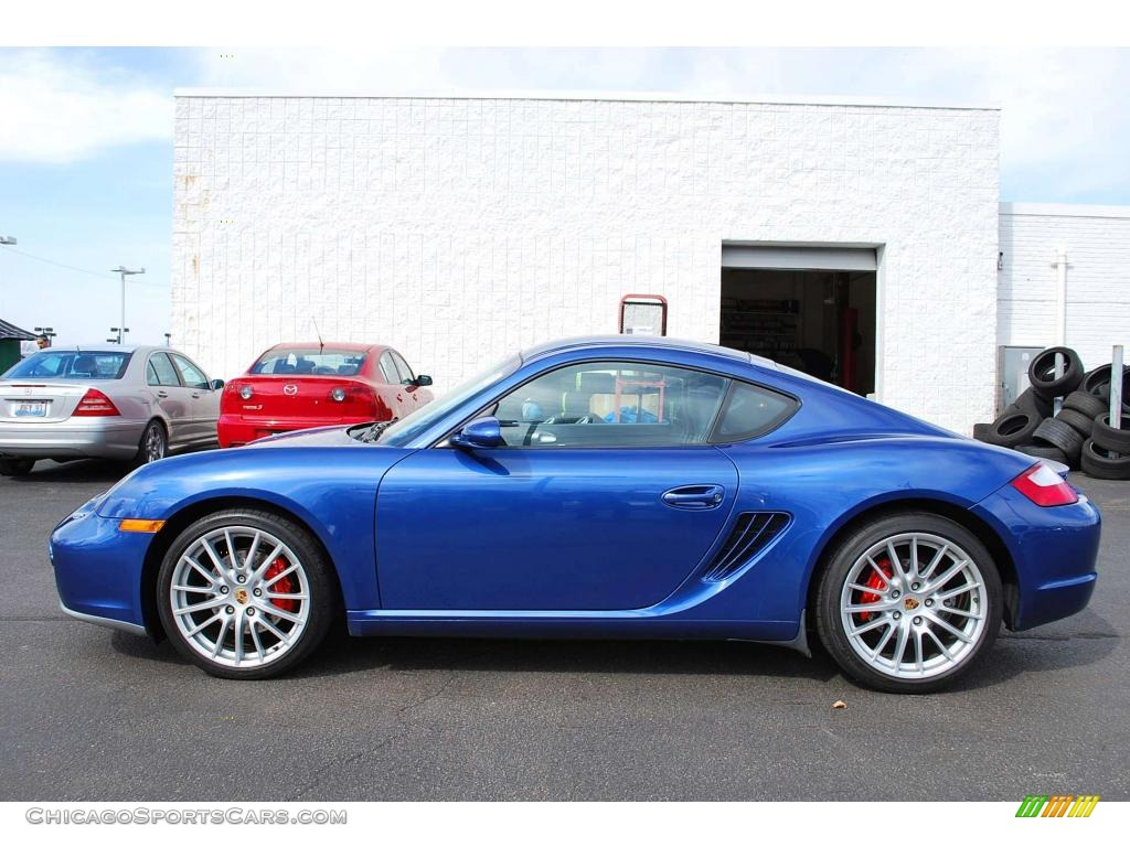 2006 Porsche Cayman S In Cobalt Blue Metallic Photo 4