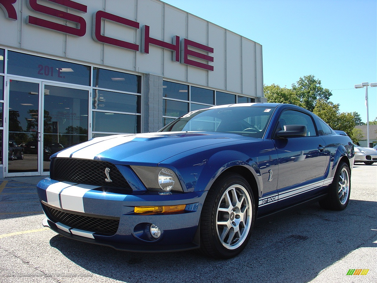 2007 Ford Mustang Shelby Gt500 Coupe In Vista Blue
