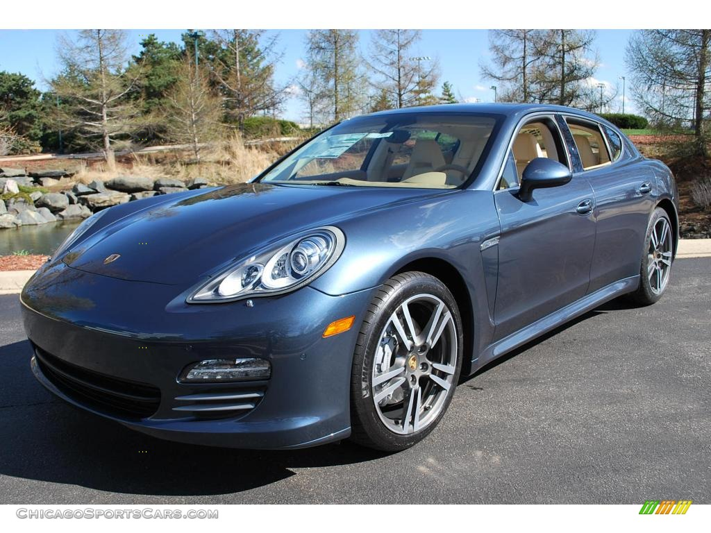 2010 Porsche Panamera 4s In Yachting Blue Metallic