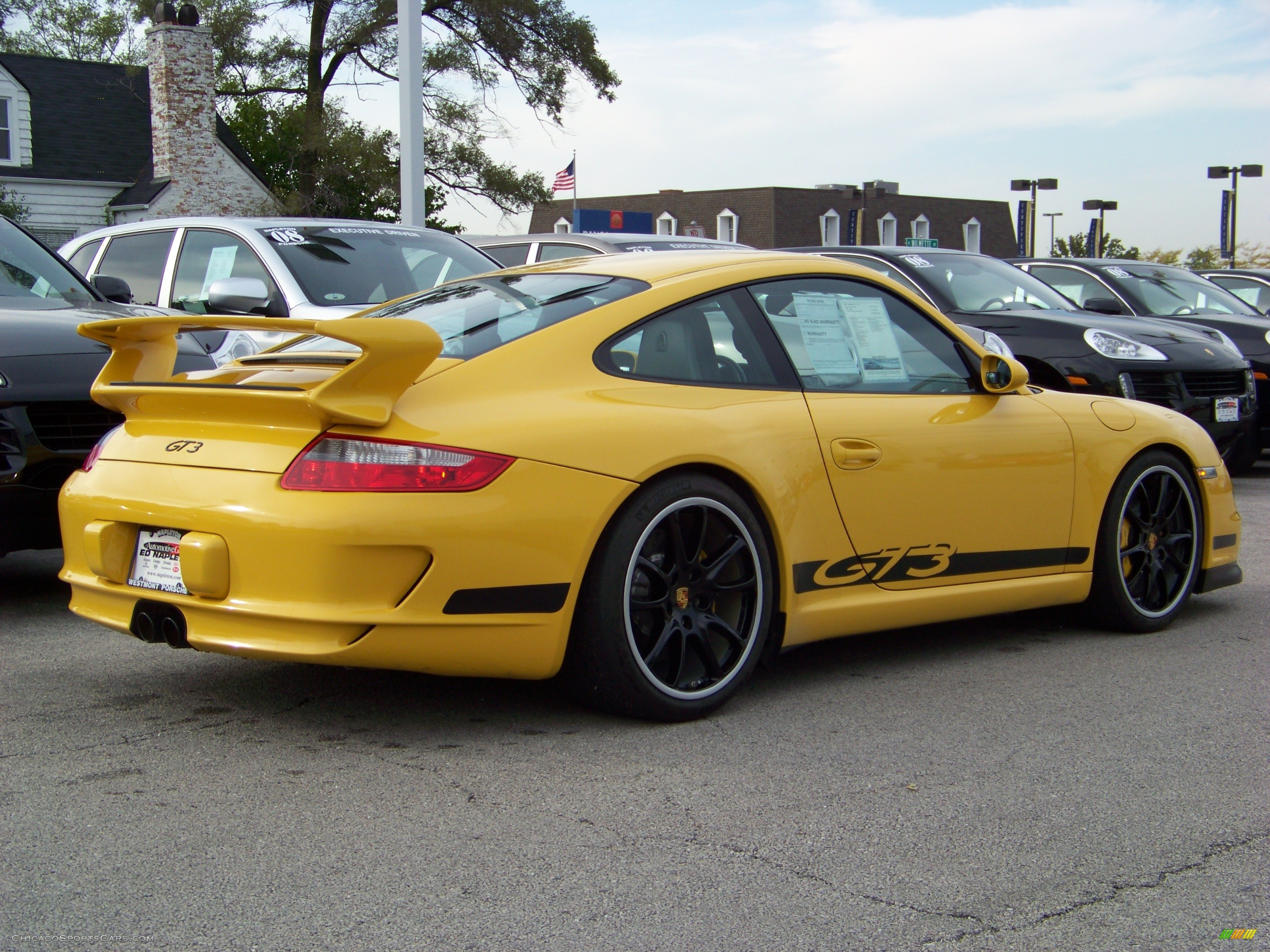 2007 Porsche 911 GT3 in Speed Yellow photo #6 - 792075 ...
