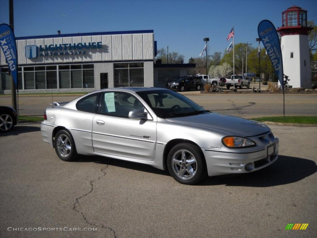 2001 Pontiac Grand Am GT Coupe in Galaxy Silver Metallic - 655232 ...