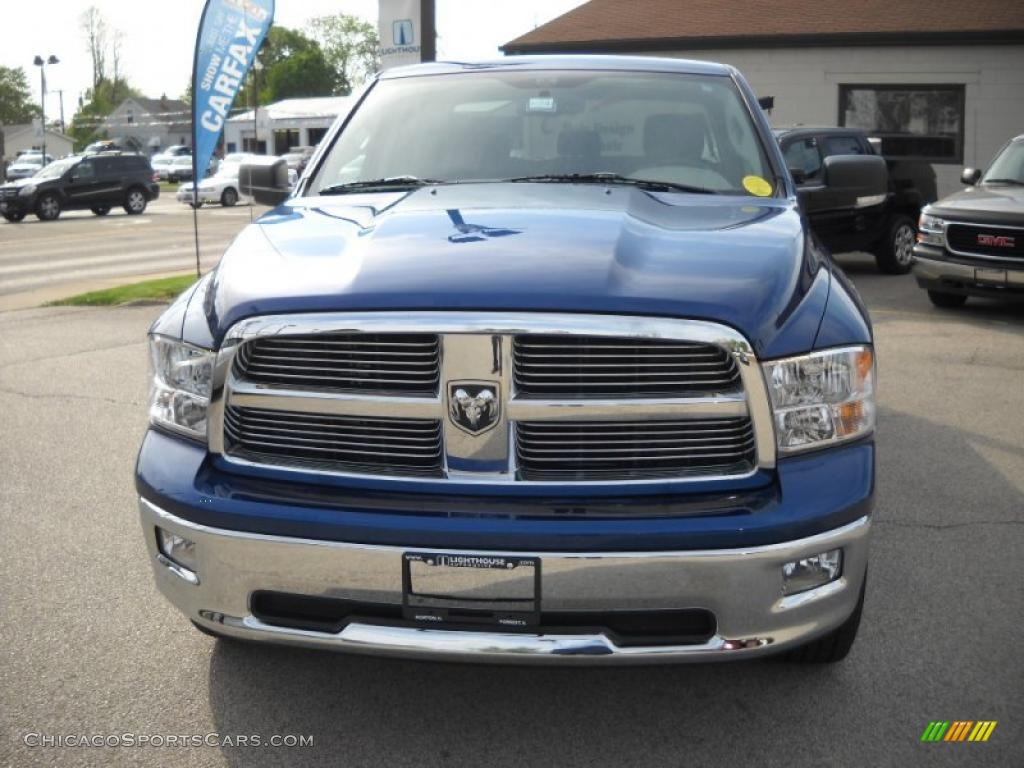 2009 dodge ram 1500 big horn edition crew cab 4x4 in deep water blue pearl photo 4 778668. Black Bedroom Furniture Sets. Home Design Ideas