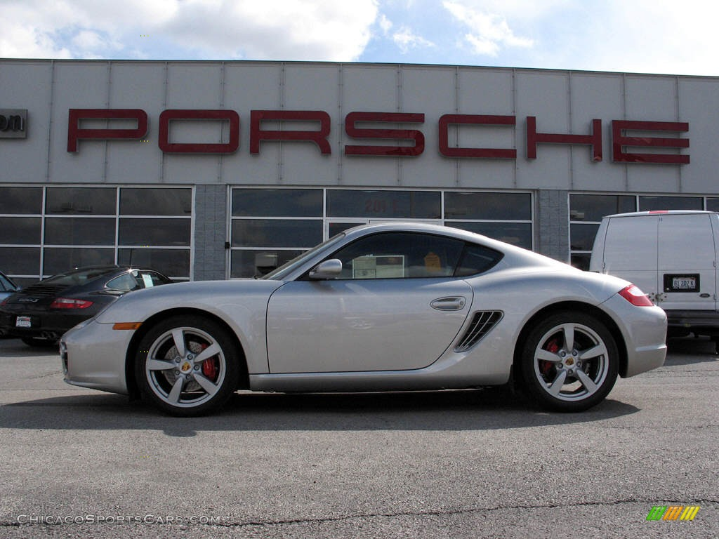 2007 Porsche Cayman S in Arctic Silver Metallic - 781884 ...