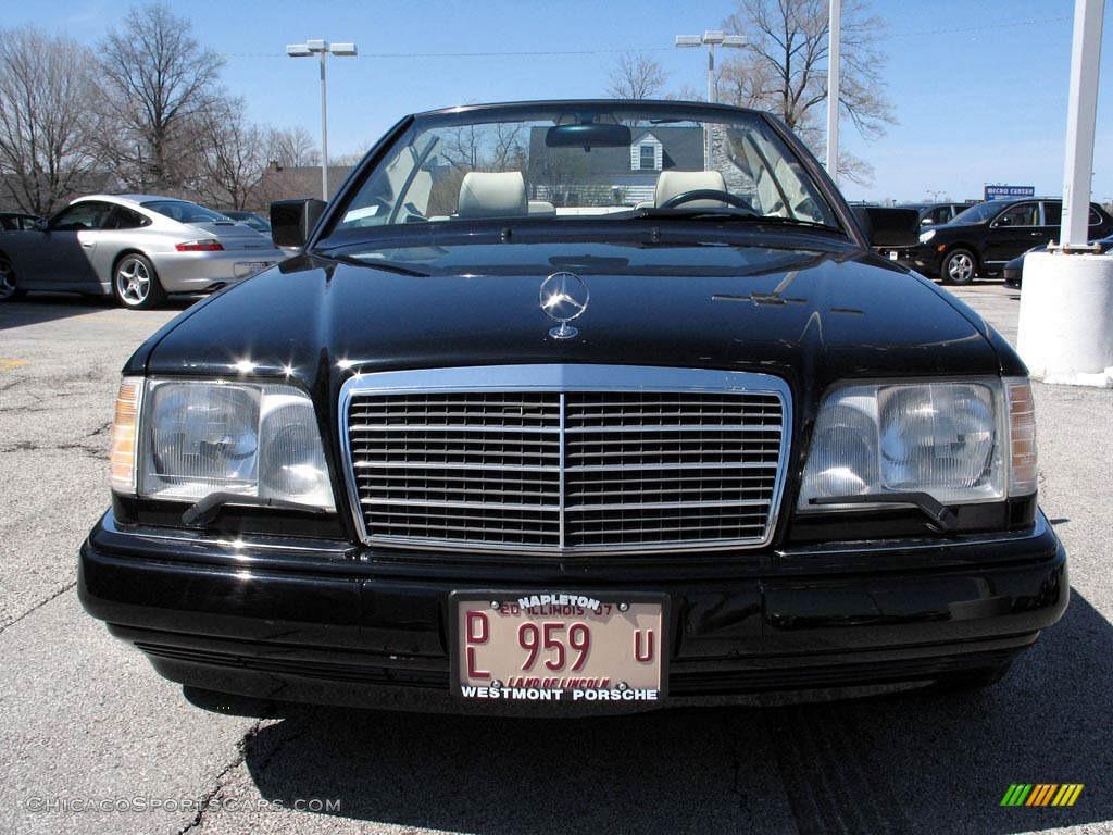 1994 mercedes benz e 320 convertible in black photo 2 for Black convertible mercedes benz