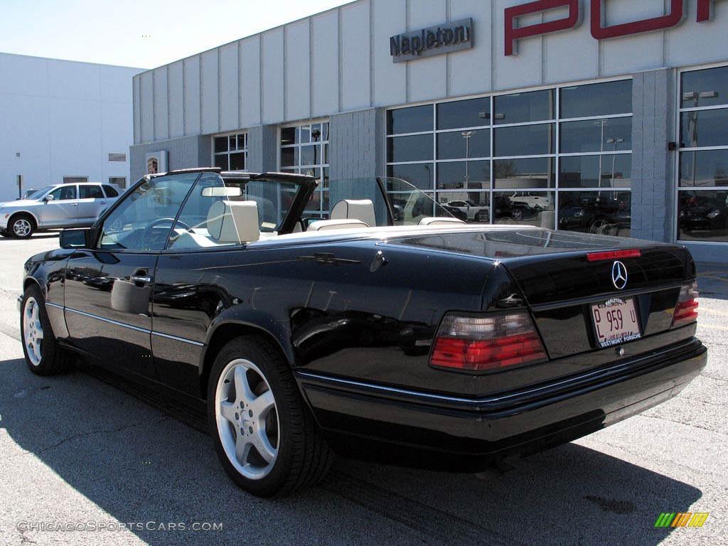 1994 mercedes benz e 320 convertible in black photo 3 for Black convertible mercedes benz