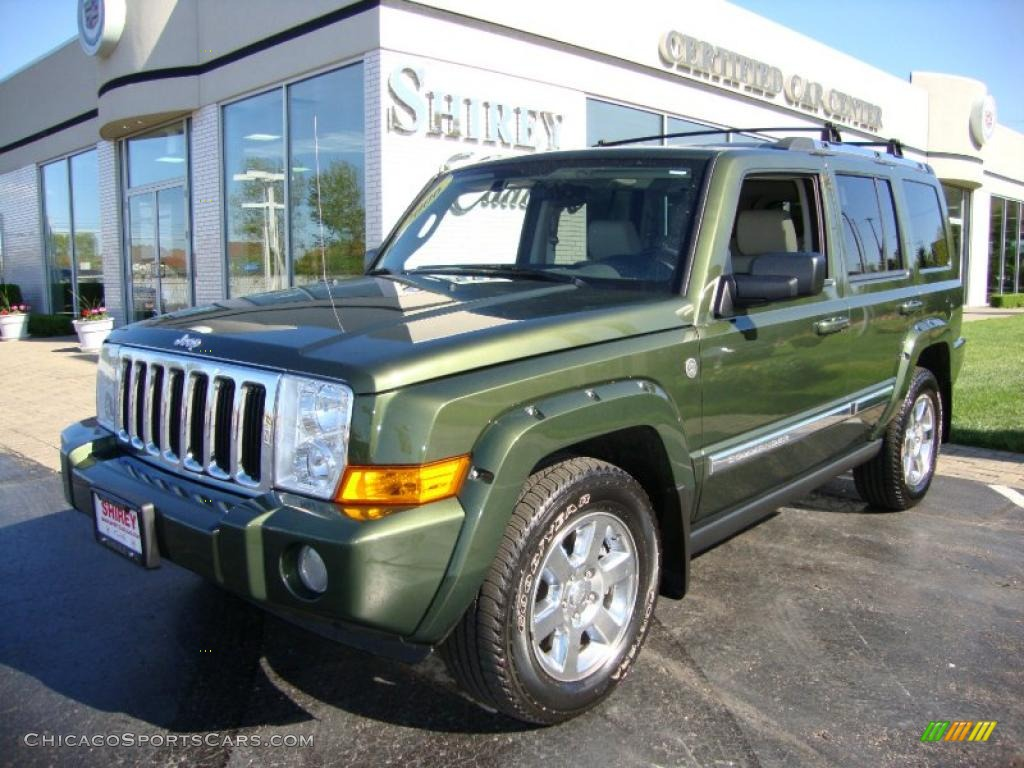 2006 jeep commander limited 4x4 in jeep green metallic - 297307