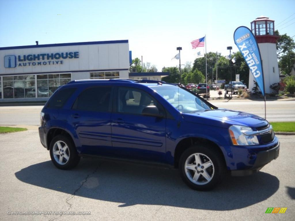 2005 chevrolet equinox lt awd in laser blue metallic 038370 cars for. Black Bedroom Furniture Sets. Home Design Ideas