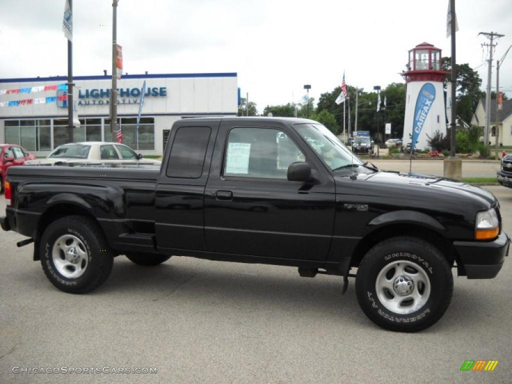 1999 ford ranger xlt extended cab 4x4 in black clearcoat. Black Bedroom Furniture Sets. Home Design Ideas