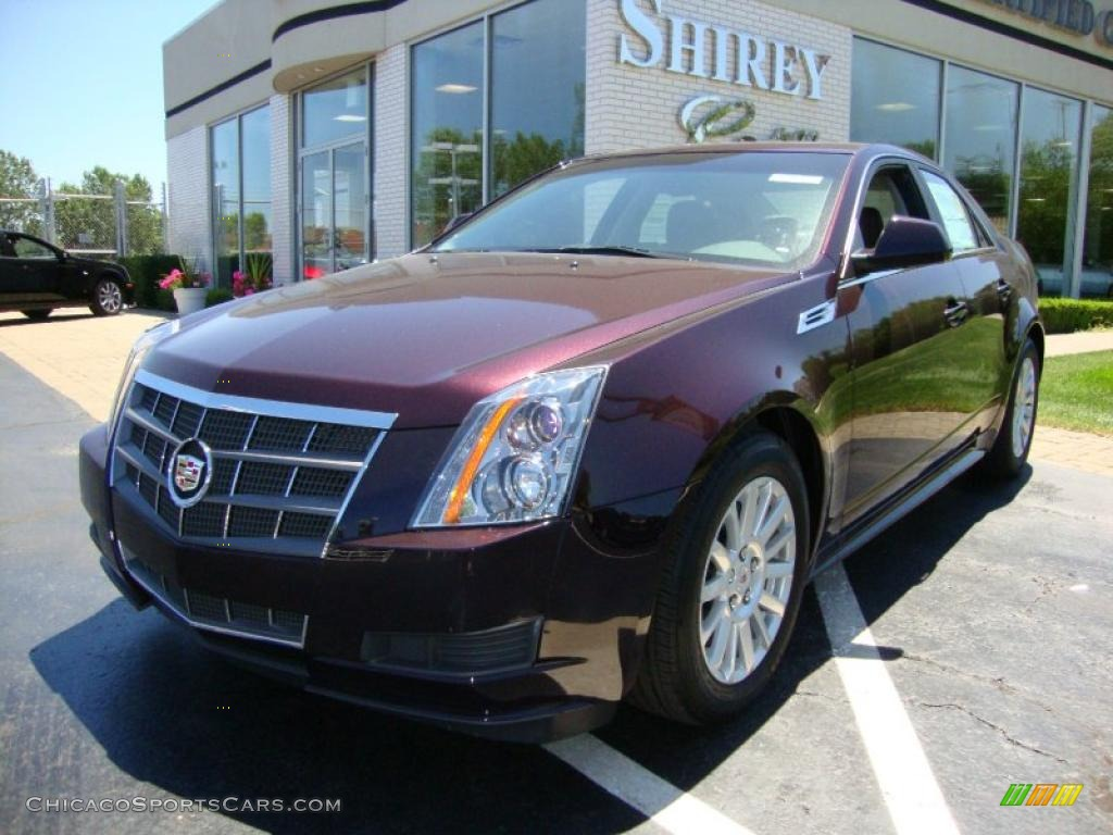 2010 cadillac cts 4 3 0 awd sedan in black cherry photo 7. Black Bedroom Furniture Sets. Home Design Ideas