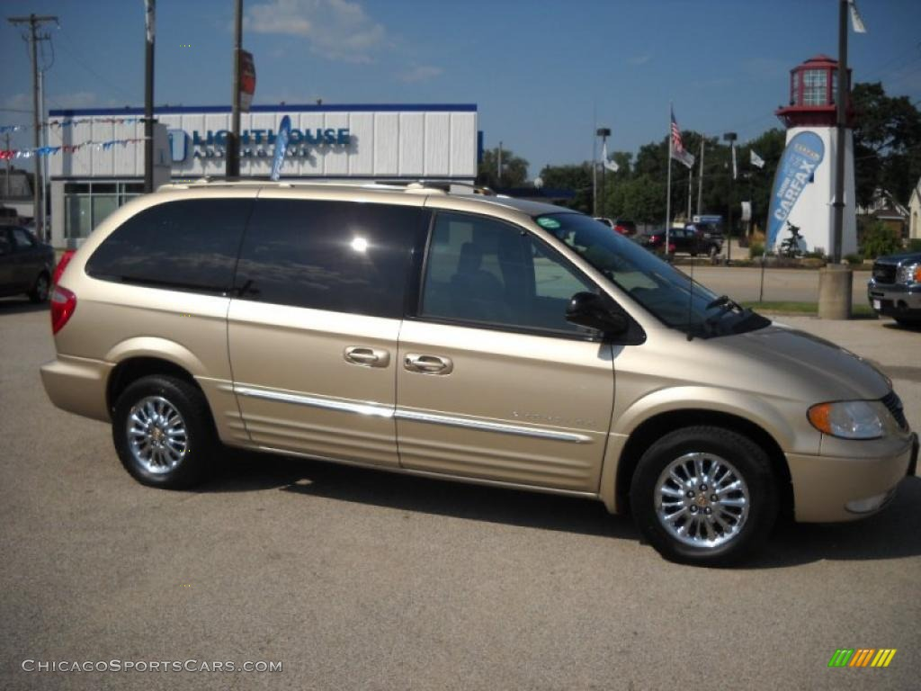 2001 chrysler town country limited in champagne pearl 158040. Cars Review. Best American Auto & Cars Review