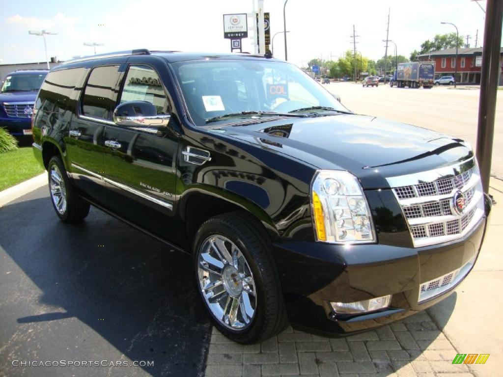 2010 cadillac escalade esv platinum awd in black raven. Black Bedroom Furniture Sets. Home Design Ideas