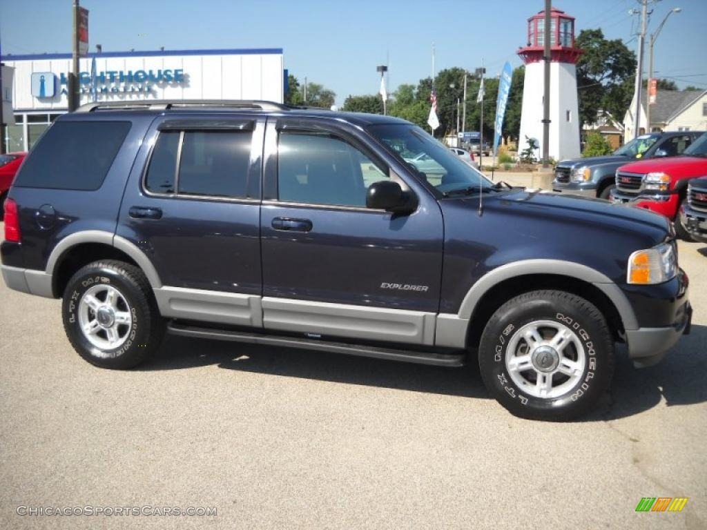 2002 Ford Explorer Xlt In Deep Wedgewood Blue Metallic