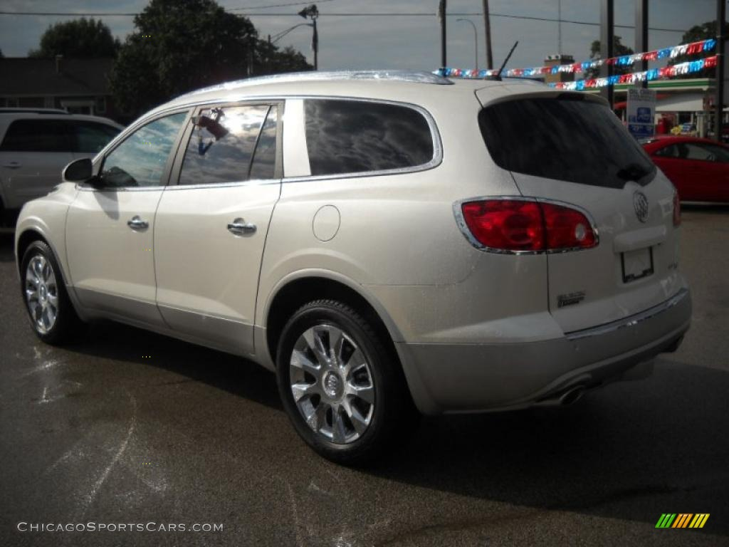 2011 buick enclave cxl awd in white diamond tricoat photo 4 118352. Black Bedroom Furniture Sets. Home Design Ideas