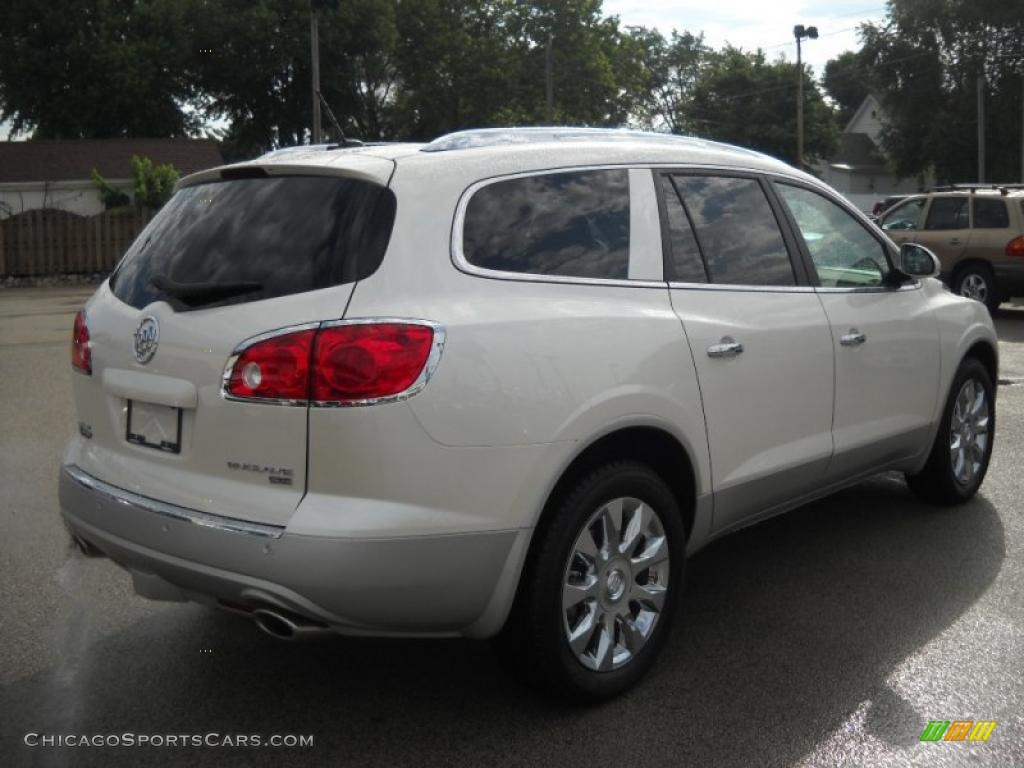 2011 buick enclave cxl awd in white diamond tricoat photo 6 118352. Black Bedroom Furniture Sets. Home Design Ideas