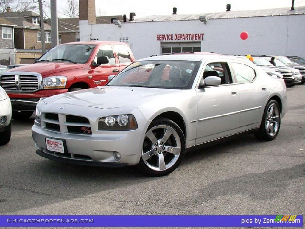 2007 dodge charger r/t in bright silver metallic - 833944