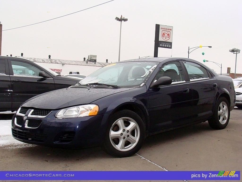 2006 dodge stratus sxt sedan in midnight blue pearl. Black Bedroom Furniture Sets. Home Design Ideas