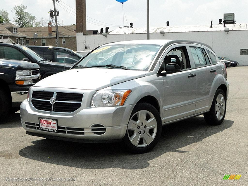 2007 dodge caliber sxt in bright silver metallic 517236 cars for. Black Bedroom Furniture Sets. Home Design Ideas