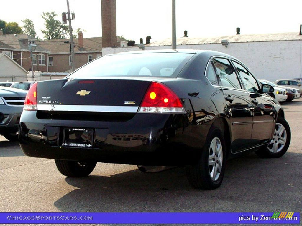 2007 Chevrolet Impala Ls In Black Photo 2 112661 Chicagosportscars Com Cars For Sale In Illinois