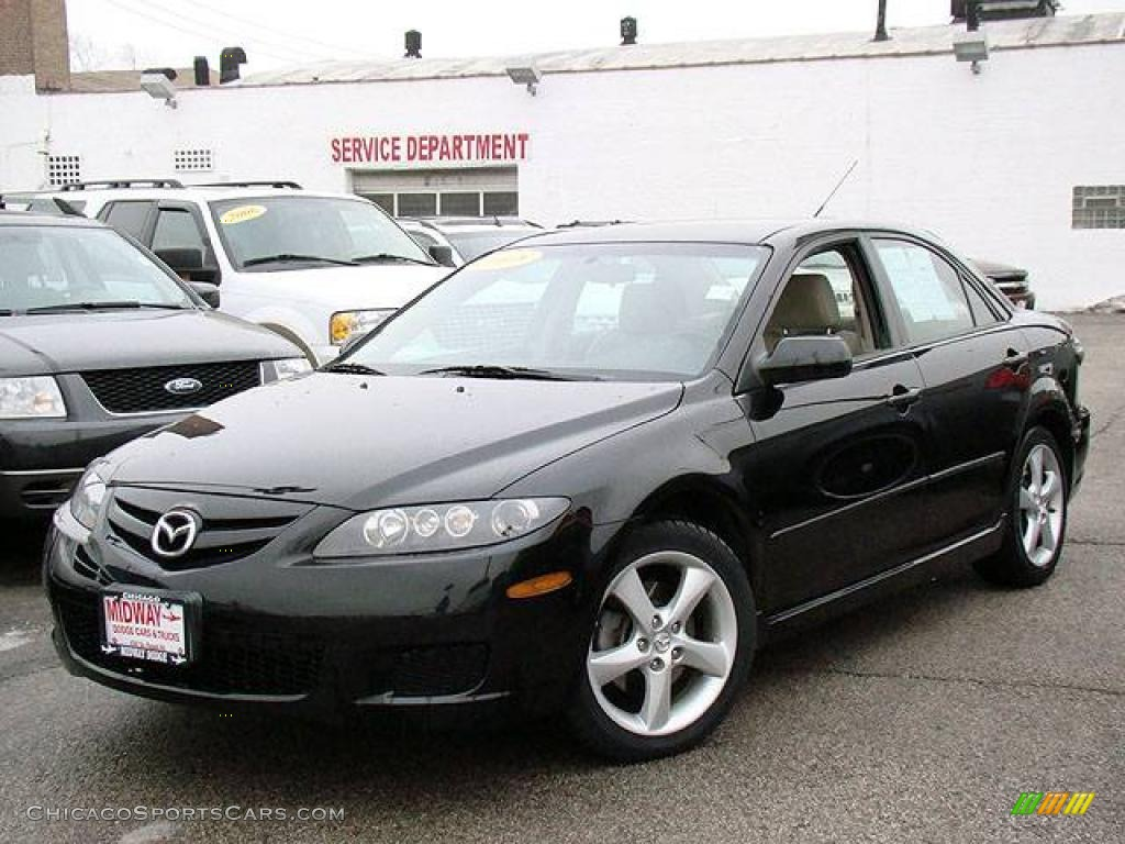 2008 mazda mazda6 i touring sedan in onyx black m35774 cars for sale. Black Bedroom Furniture Sets. Home Design Ideas