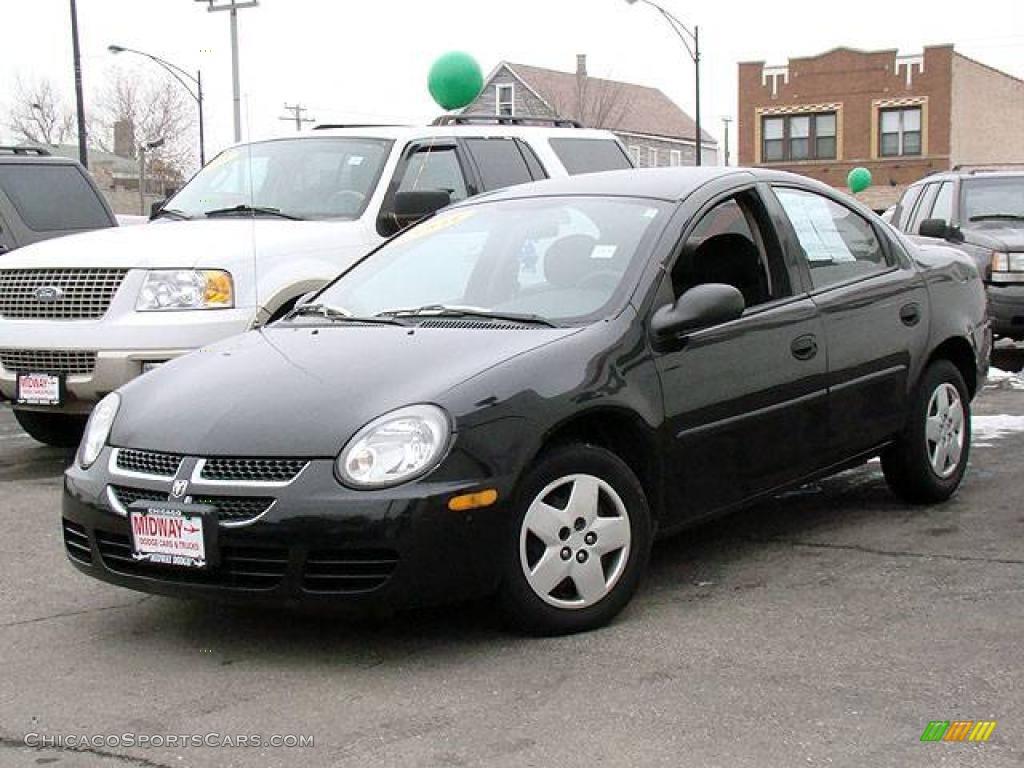 2003 dodge neon se in black 110721 chicagosportscars. Black Bedroom Furniture Sets. Home Design Ideas
