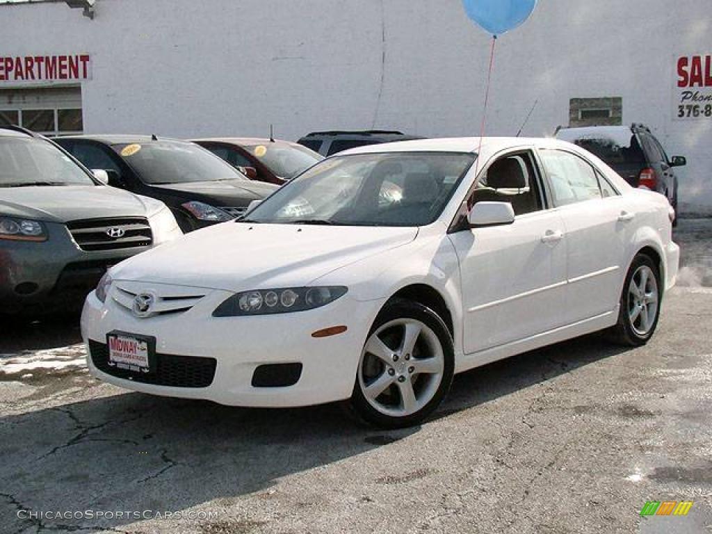2008 Mazda MAZDA6 i Touring Sedan in Performance White ...