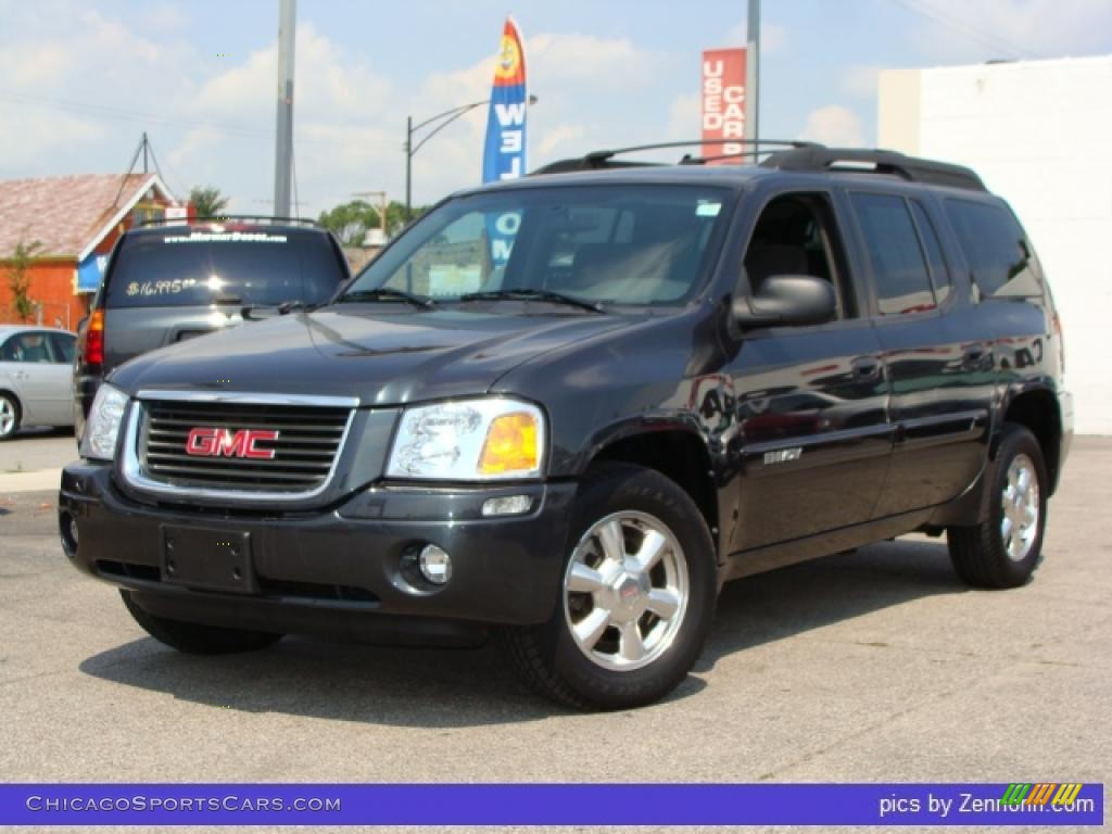 2004 gmc envoy xl sle in carbon metallic 230734. Black Bedroom Furniture Sets. Home Design Ideas