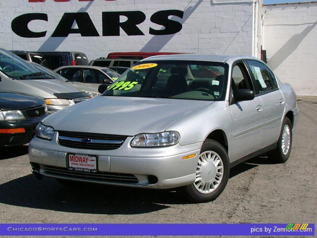 2002 chevrolet malibu sedan in galaxy silver metallic 556188 cars. Black Bedroom Furniture Sets. Home Design Ideas