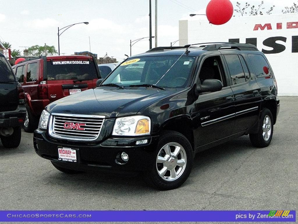 Black Onyx / Light Gray GMC Envoy XL SLE 4x4