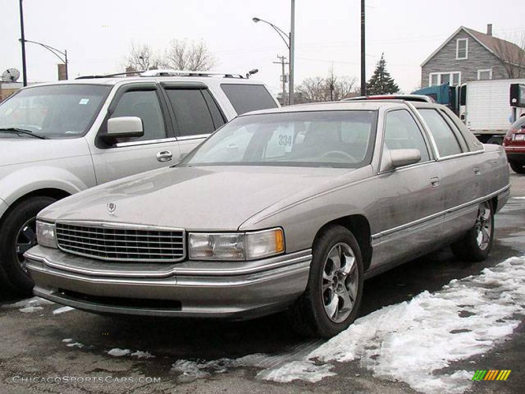 Light Driftwood Metallic / Tan Cadillac DeVille Sedan
