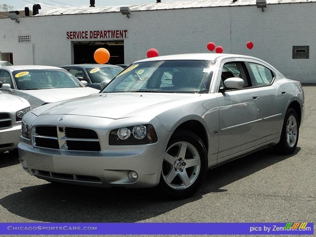 2010 dodge charger sxt in bright silver metallic 119821 cars for. Black Bedroom Furniture Sets. Home Design Ideas
