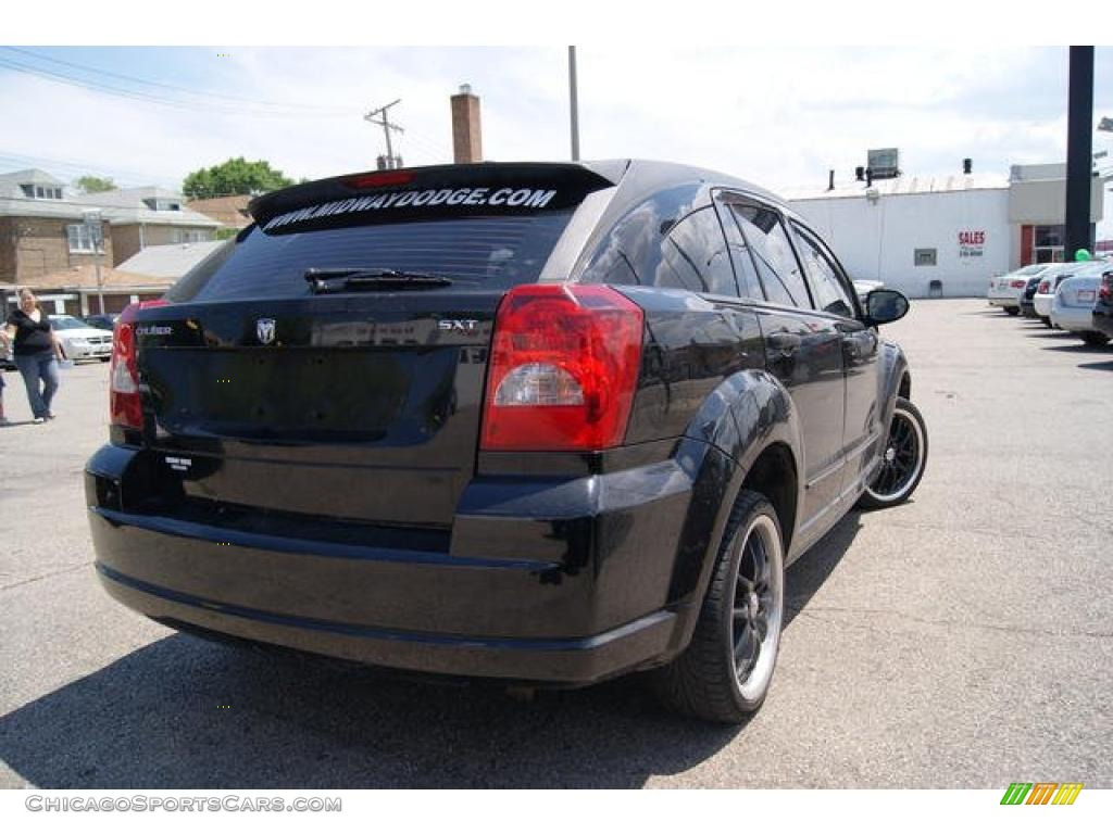 2007 dodge caliber sxt in black photo 2 588333. Black Bedroom Furniture Sets. Home Design Ideas