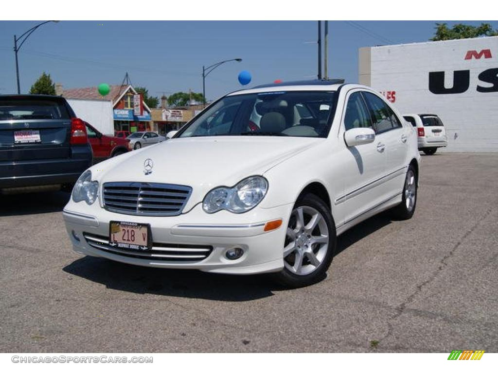 2007 mercedes benz c 280 4matic luxury in arctic white for 2007 mercedes benz 280