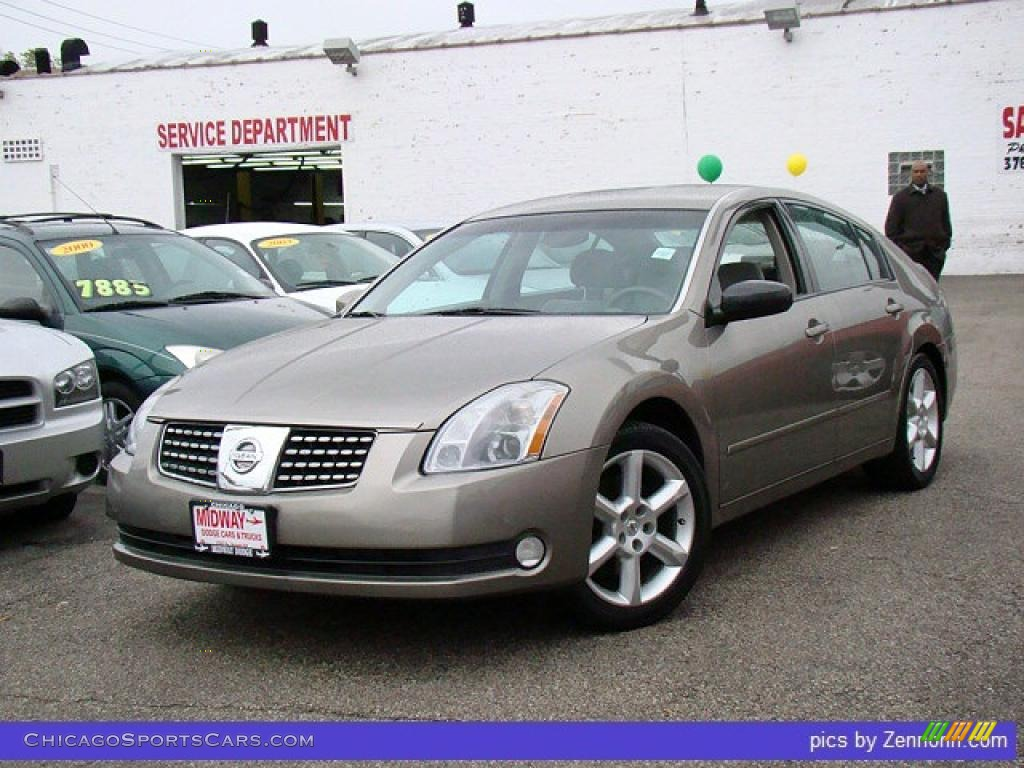 2004 nissan maxima 3 5 se in spirited bronze 867892. Black Bedroom Furniture Sets. Home Design Ideas