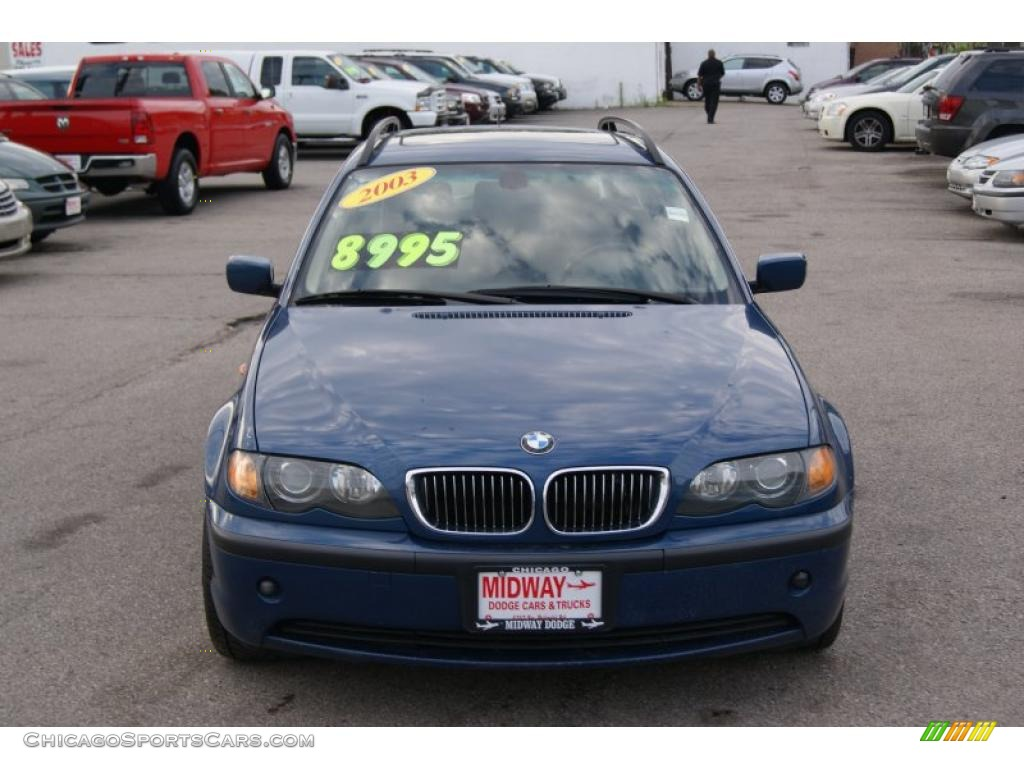 2003 bmw 3 series 325i wagon in mystic blue metallic c12042 cars for. Black Bedroom Furniture Sets. Home Design Ideas