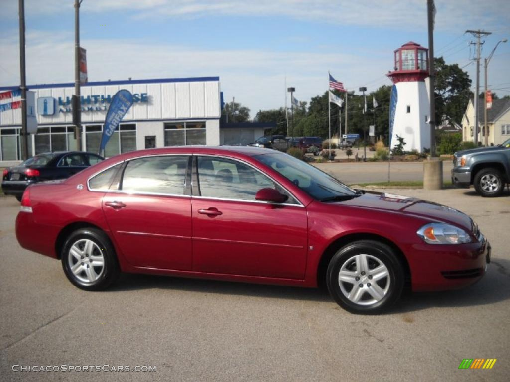 2006 chevrolet impala ls in sport red metallic 333830. Black Bedroom Furniture Sets. Home Design Ideas