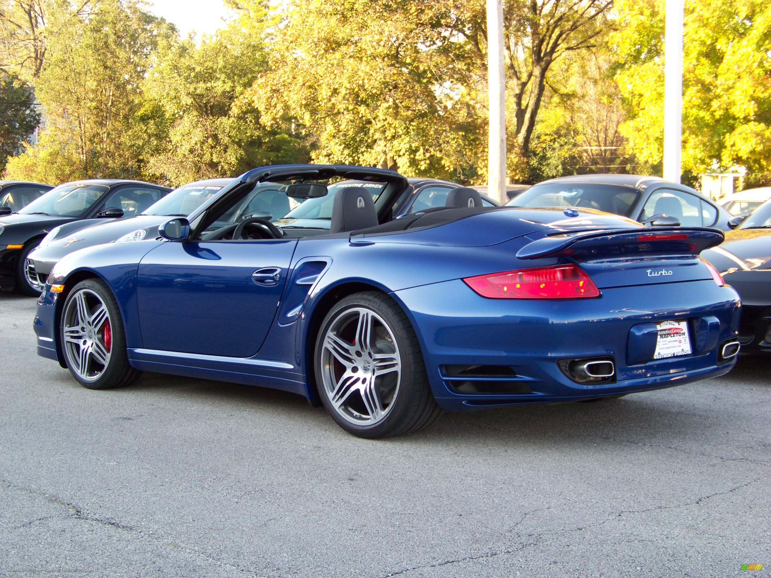 2009 porsche 911 turbo cabriolet in aqua blue metallic. Black Bedroom Furniture Sets. Home Design Ideas