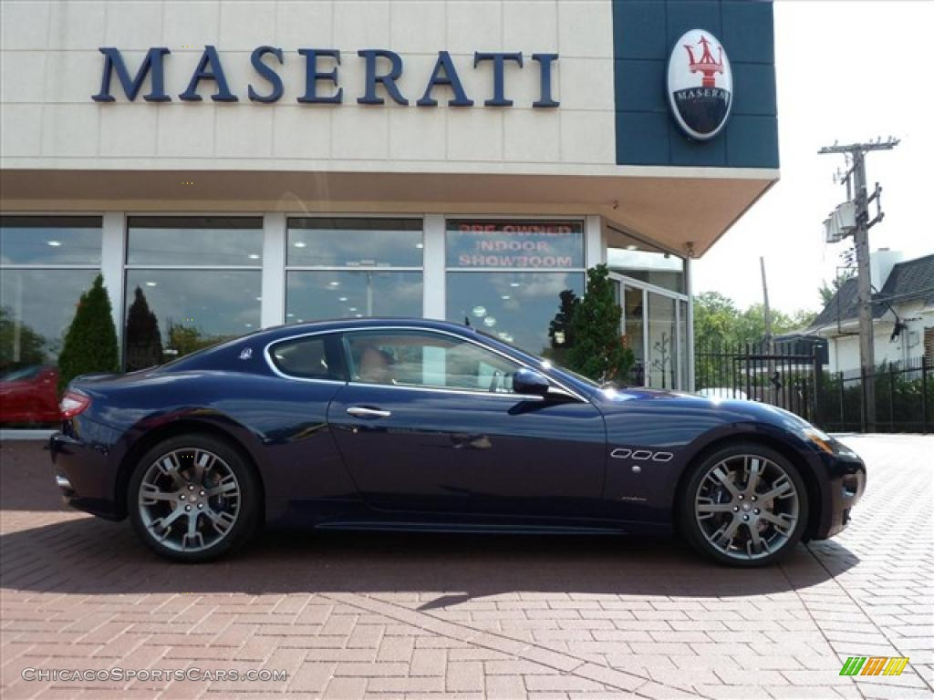 2009 maserati granturismo s in blu oceano blue 043359. Black Bedroom Furniture Sets. Home Design Ideas