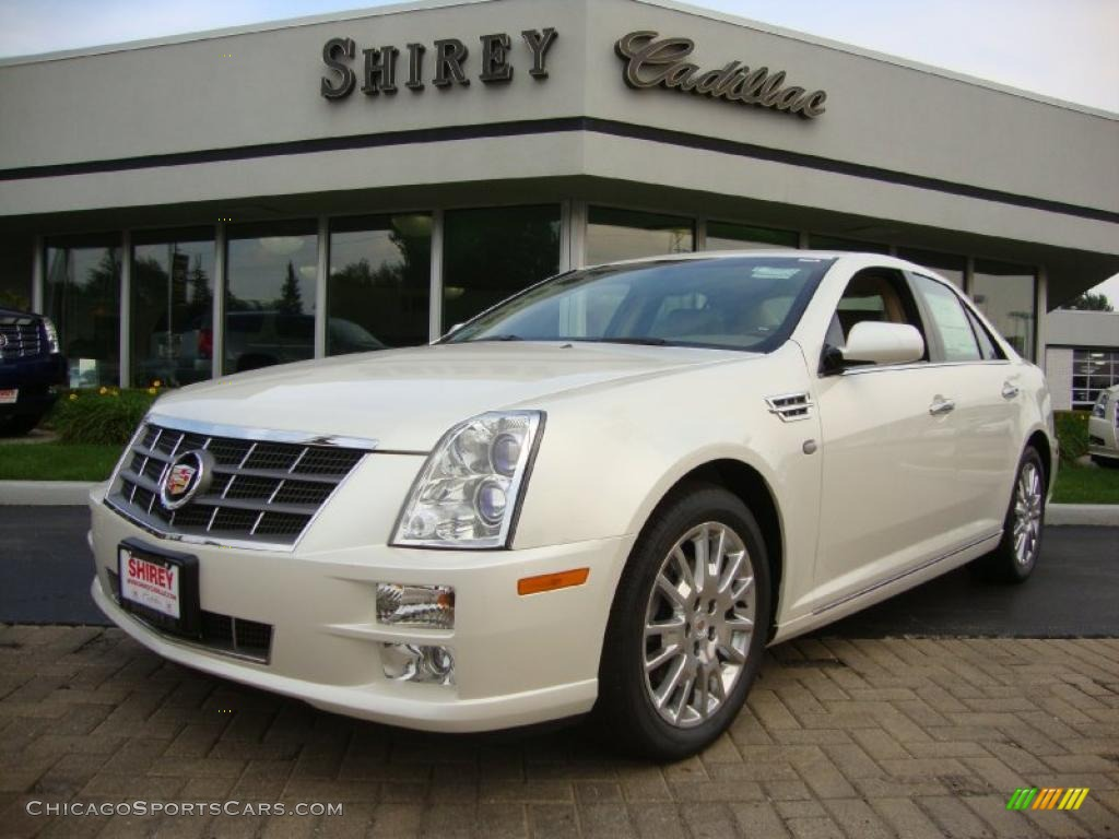 2011 cadillac sts 4 v6 awd in white diamond tricoat 116043 cars for. Black Bedroom Furniture Sets. Home Design Ideas