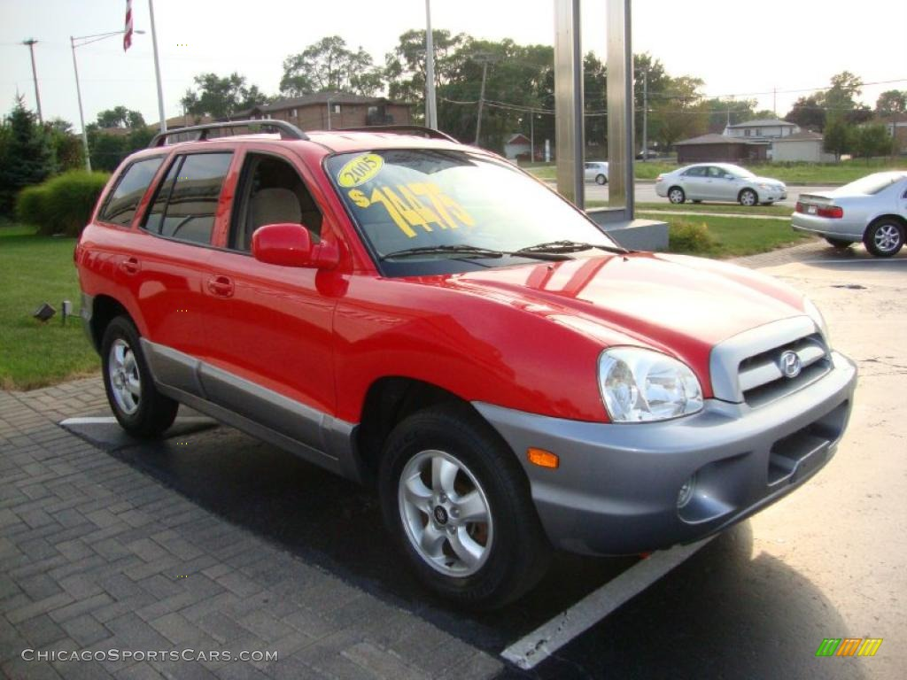 2005 hyundai santa fe gls in canyon red photo 3 884447 cars for. Black Bedroom Furniture Sets. Home Design Ideas