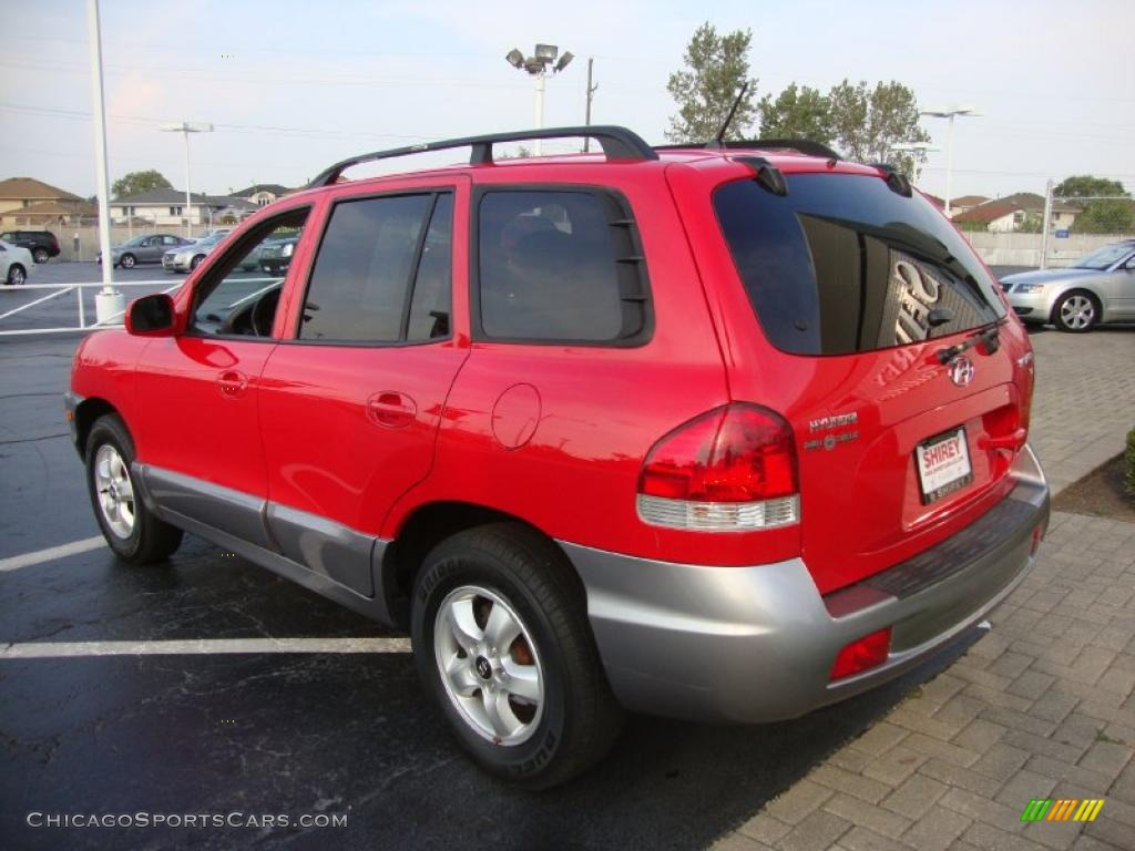 2005 hyundai santa fe gls in canyon red photo 6 884447 cars for. Black Bedroom Furniture Sets. Home Design Ideas