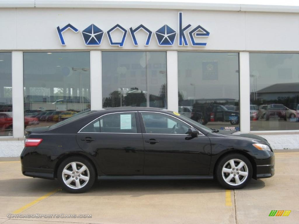 2007 toyota camry se in black photo 11 128392 cars for sale in illinois. Black Bedroom Furniture Sets. Home Design Ideas
