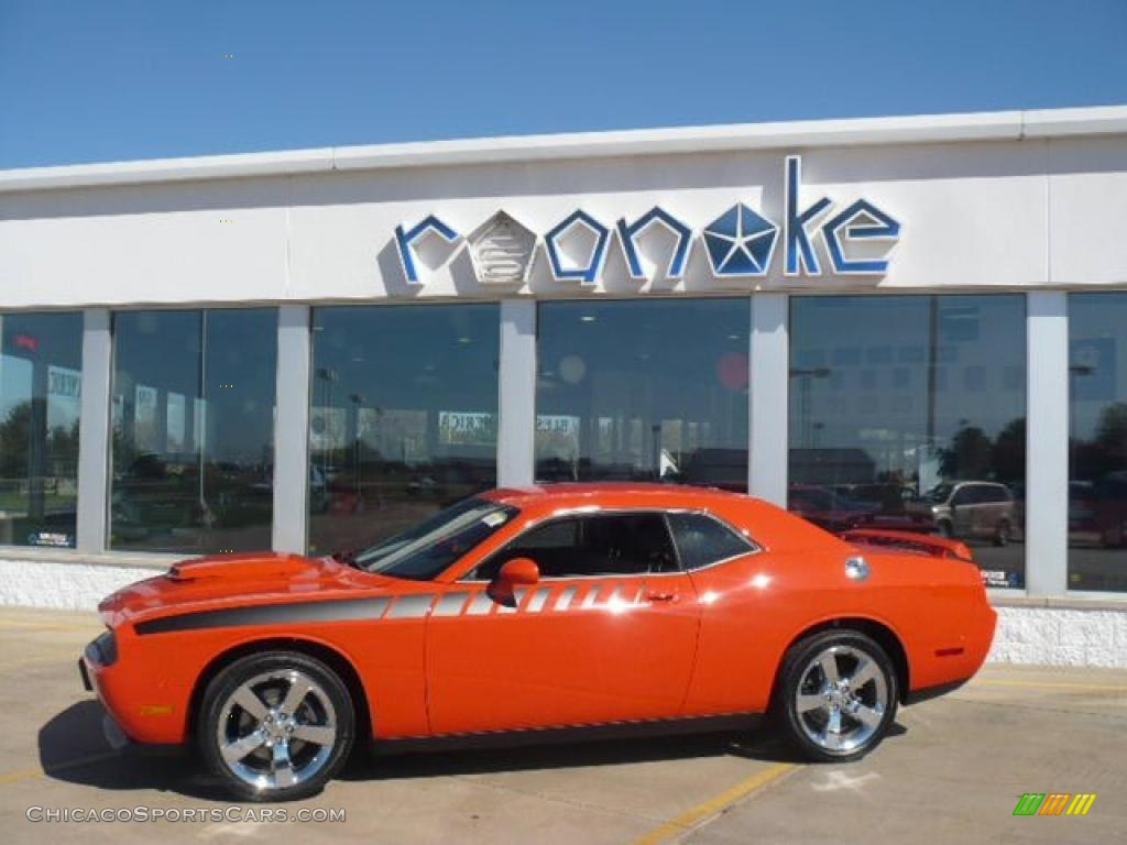 2010 Dodge Challenger R/T in HEMI Orange - 321305 | ChicagoSportsCars ...