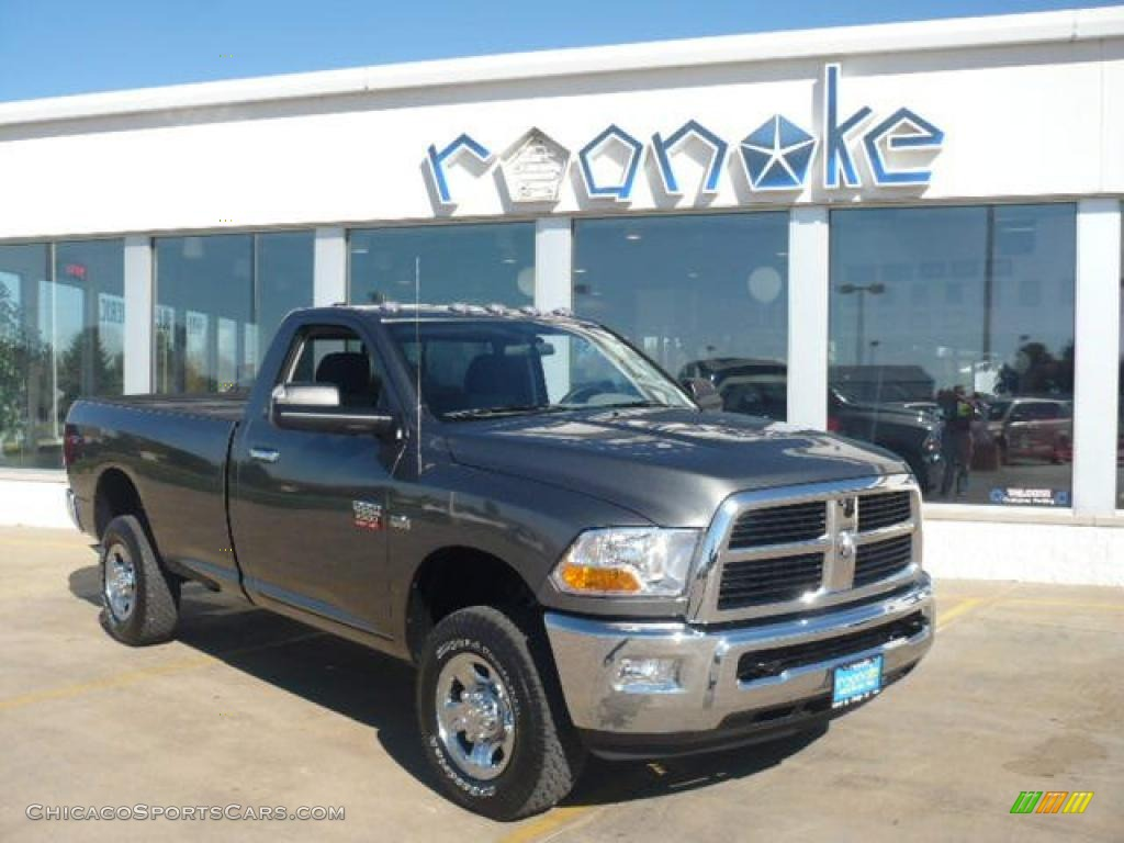 2011 Ram 2500 HD SLT Regular Cab 4x4 - Mineral Gray Metallic / Dark
