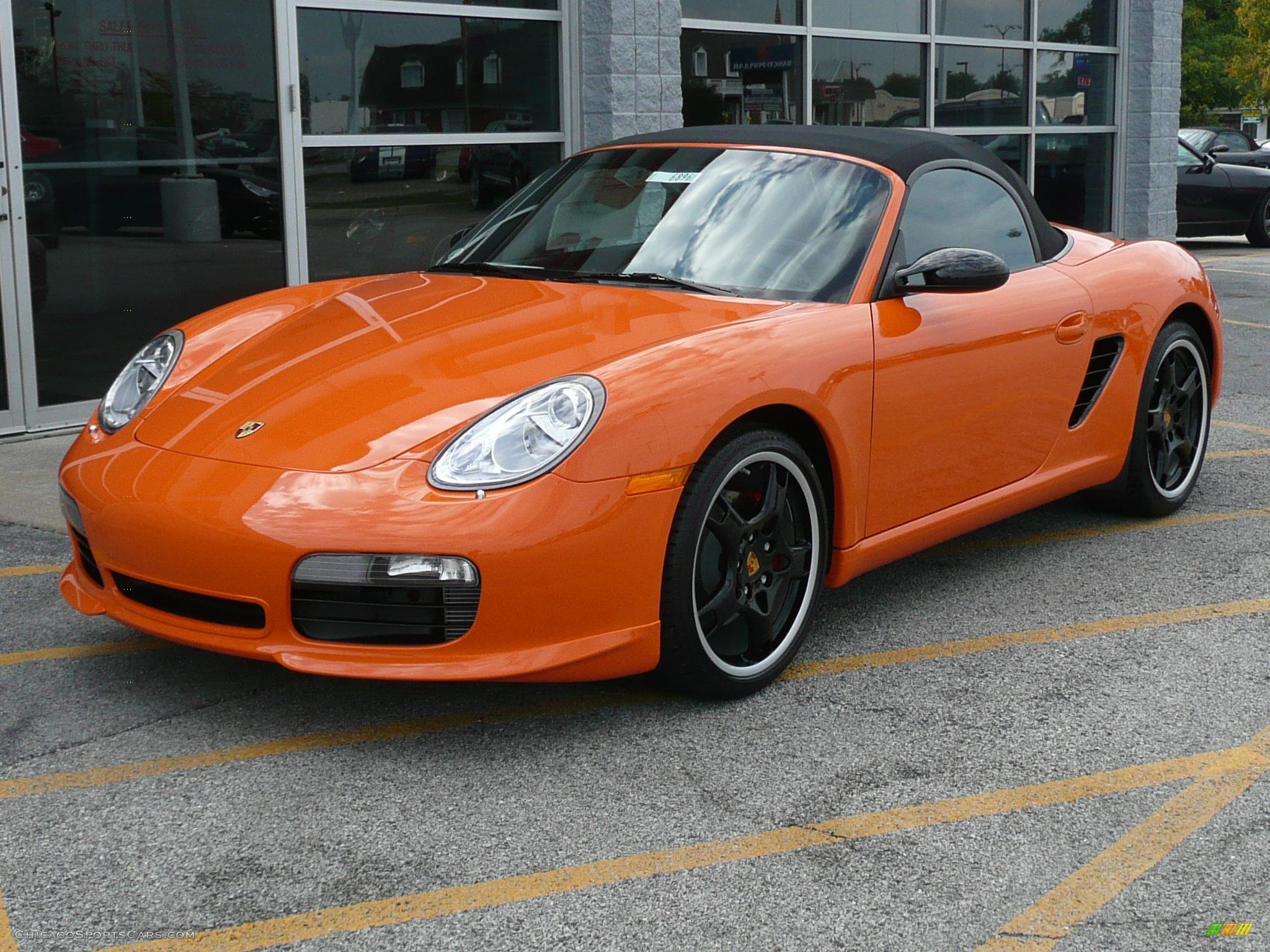 2008 Porsche Boxster S Limited Edition In Orange Photo 22