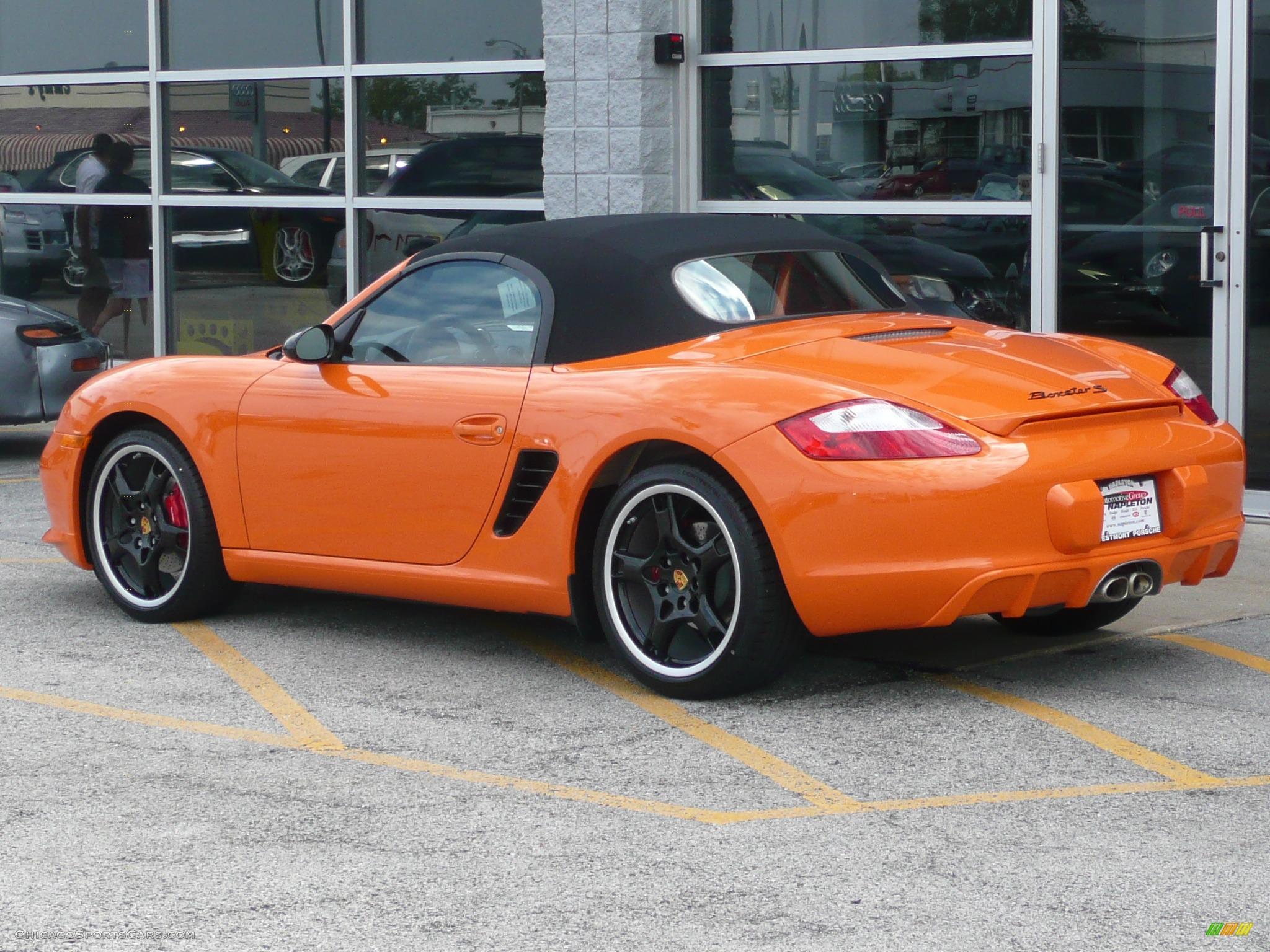 2008 Porsche Boxster S Limited Edition In Orange Photo 27