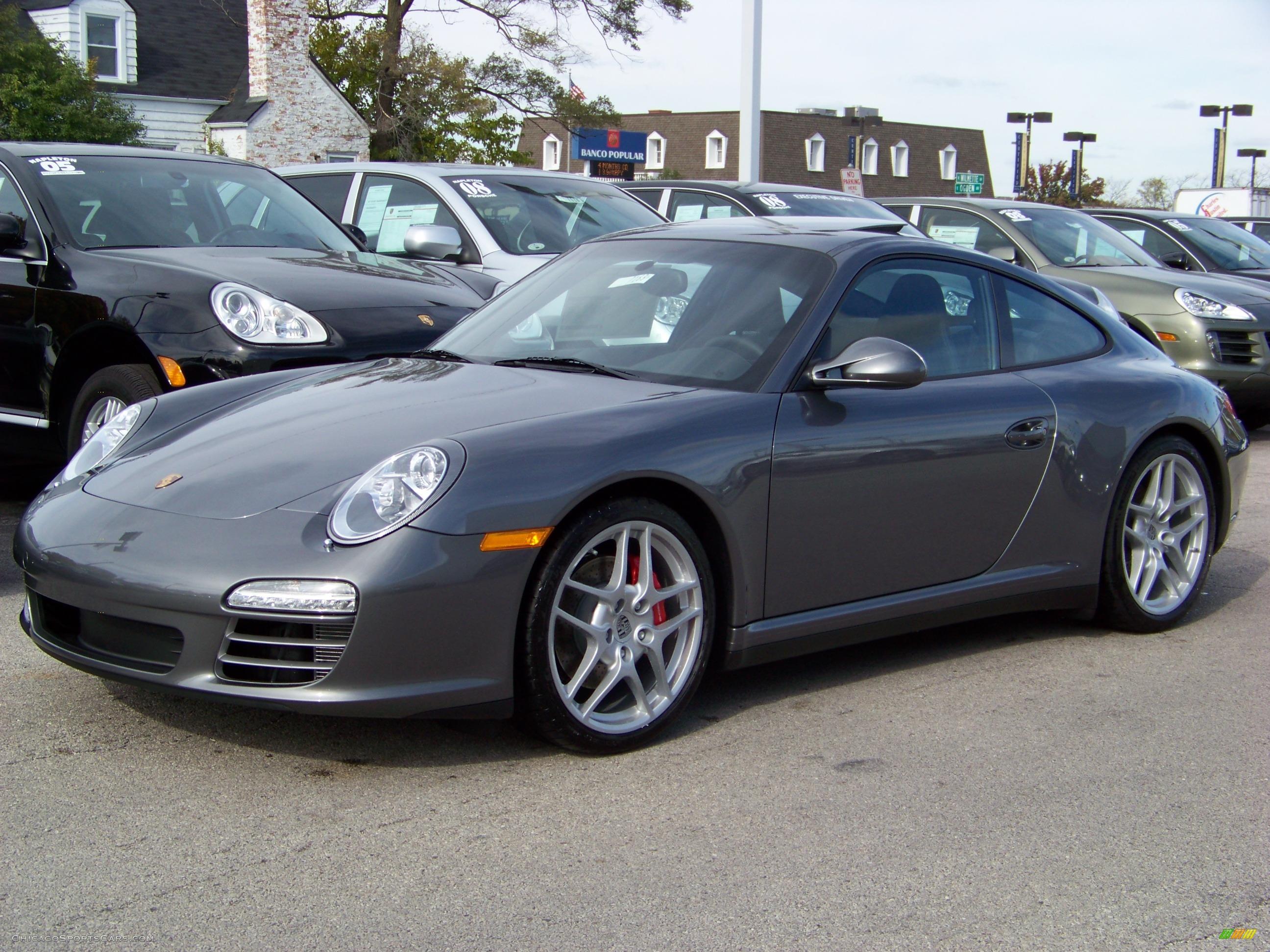 Worksheet. 2009 Porsche 911 Carrera 4S Coupe in Meteor Grey Metallic  720793
