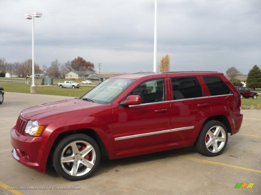 2010 jeep grand cherokee srt8 4x4 in inferno red crystal pearl photo 21 118446. Black Bedroom Furniture Sets. Home Design Ideas