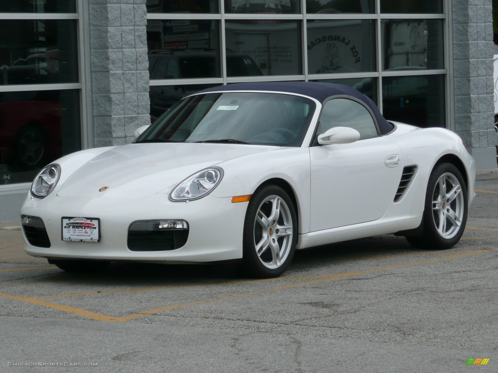 2007 porsche boxster in carrara white 711940 cars for sale in illinois. Black Bedroom Furniture Sets. Home Design Ideas