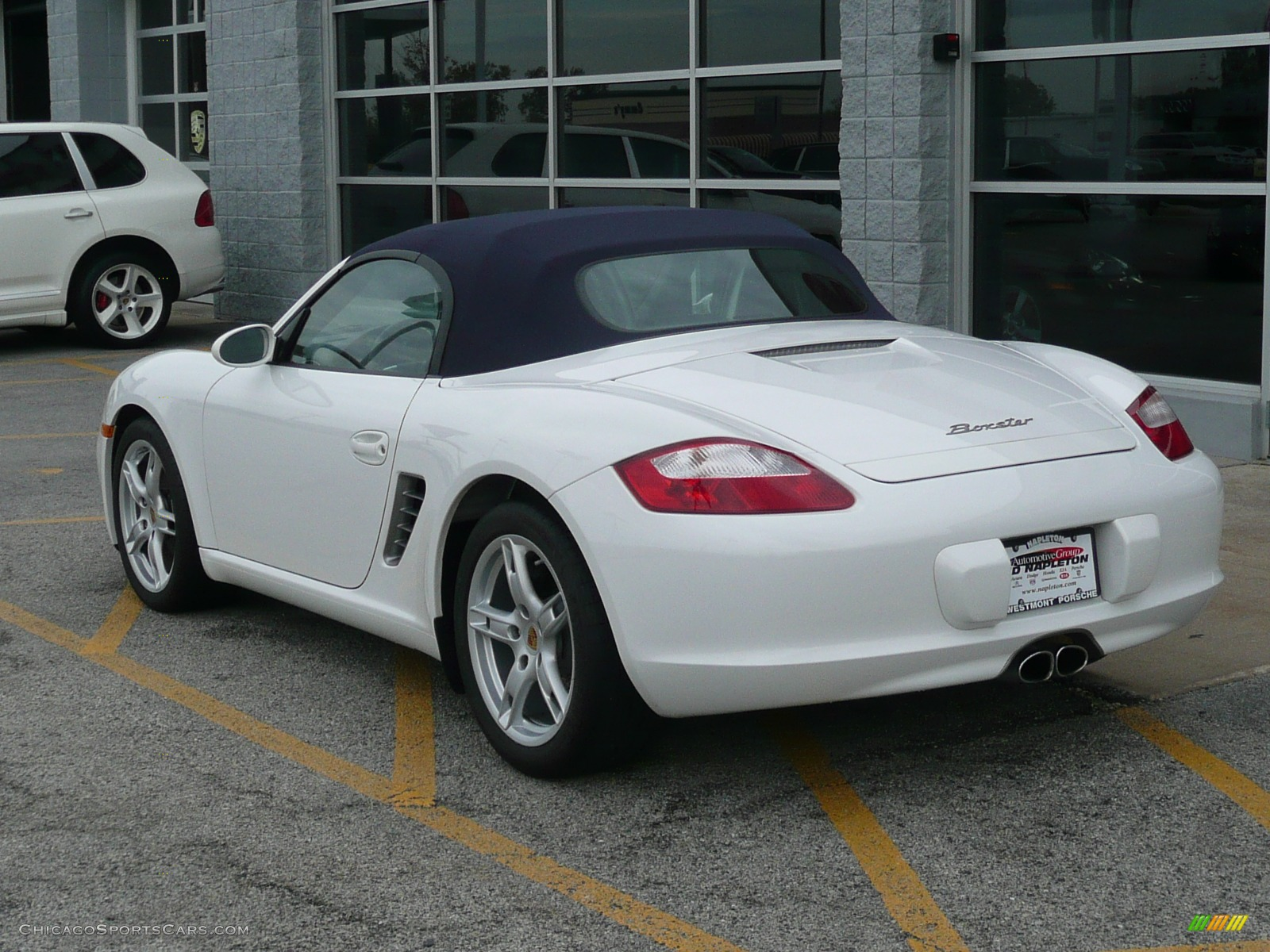 2007 porsche boxster in carrara white photo 7 711940 cars for sale. Black Bedroom Furniture Sets. Home Design Ideas