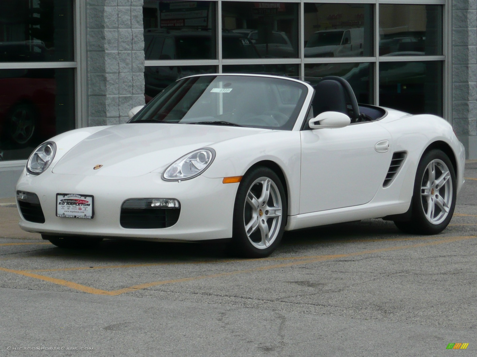 2007 porsche boxster in carrara white photo 9 711940 cars for sale. Black Bedroom Furniture Sets. Home Design Ideas